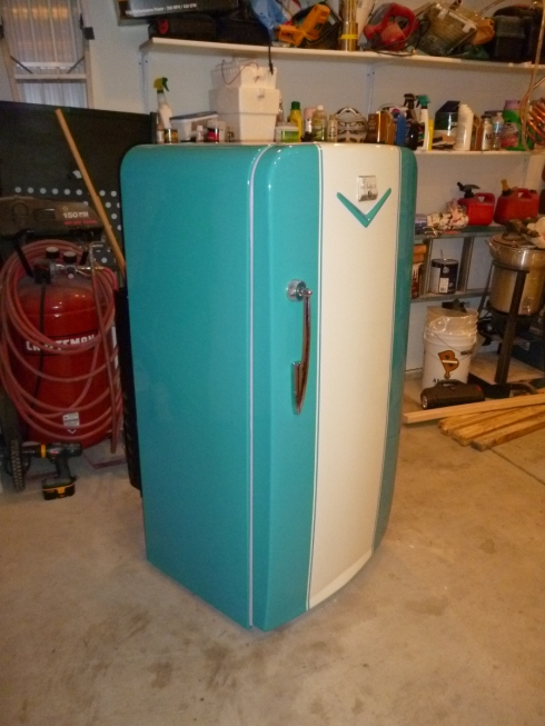 1952 Coldspot Refrigerator The Vintage Appliance Forum